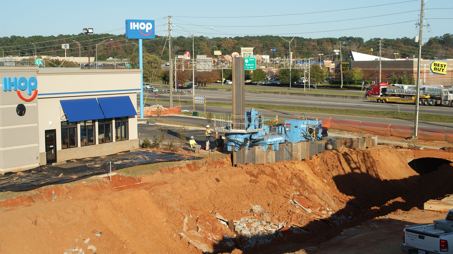 I-HOP Drainage Collapse